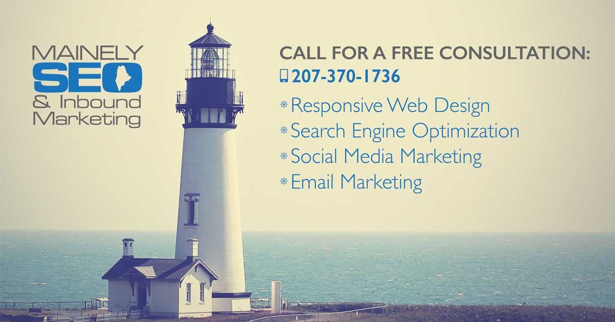 Maine Web Design & Inbound Marketing for Small Businesses